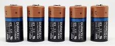 Duracell 3V Ultra Lithium Batterie 123 - DL123A/CR123A/CR17345 - 5 Stück