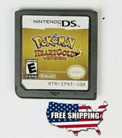 Pokemon Heart Gold Version - Nintendo DS NDS 3DS DSi Lite NEW