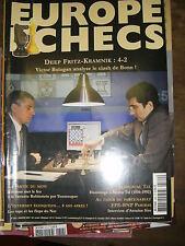Europe Echecs N° 562 Deep Fritz Kramnik Bonn Variante Rubinsten par Youssoupov
