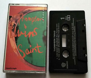 Thompson Twins The Saint (Cassette Single) - Warner Bros - Tested - Rare- (1992)
