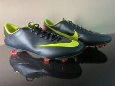 Nike Mercurial Vapor VIII FG Dark Green Volt Size 8.5 US 7.5 UK CR7