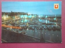 POSTCARD KENT RAMSGATE HARBOUR BY NIGHT