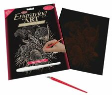 Engraving Art Set – Field Mice – Copper Foil by Royal and Langnickel