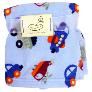 Micro Polar Transportation Polar Fleece Blanket