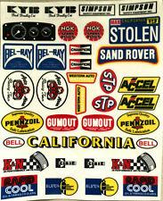 Tamkyo Decal, Sand Rover Dune Buggy Sticker Set Tamiya Kyosho