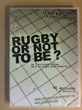 DVD RARE / RUGBY OR NOT TO BE ? / 40 EPISODES DE LA SERIE WEB / NEUF SOUS CELLO