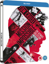 Mission Impossible Ultimate Collection Limited Edition Steelbook Bluray UK NEW