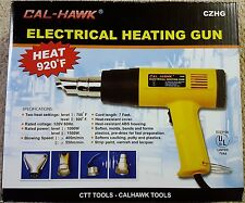 Multipurpose Electrical Heat Gun Heats Up To 920 Degrees by Cal Hawk Tools NEW!!