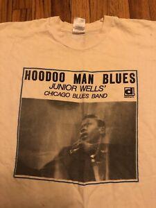 hoodoo man blues vintage XL tee Jazz Record Mart 1990s buddy guy junior wells