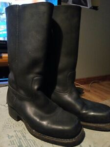 Frye Quality Leather Motorcycle Boots