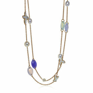 Mimi Milano Freevola 18k Rose Gold And Pearl Necklace CX904R1XM