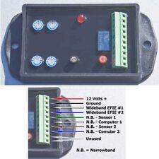 Wideband Quad EFIE for Hydrogen Generator Car Kits AFR Controller HHO