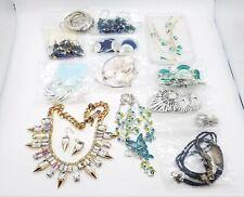 1.2LB Rhinestone Costume Jewelry Sets Lot TT443
