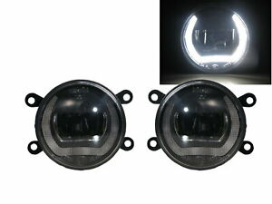 C-Quatre Second generation 10-18 4D/5D DRL Ubar LED Glass Fog Light BK for DFMC