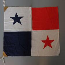 Antique Alabama 4/'x4/' all sewn cotton flag 100/% cotton 1990 Ruffin Flags USA CSA