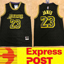 Lebron James Lakers jersey Black special edition, Express post, AU stock