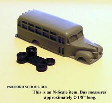 1940-42 FORD SCHOOL BUS - N SCALE - FNS