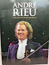 Andre' Rieu & The Johann Strauss Orchestra Amsterdam Program Free Post!