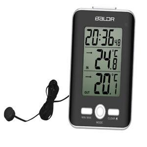 Digitales LCD Thermometer Hygrometer Feuchtigkeits Temperaturmessgerät mit