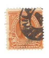 Scott 310 Early US Stamp 50c Jefferson...1902-03....