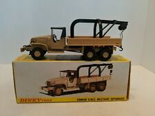 Dinky Toys 808 Camion G.M.C. Militaire Depannage Truck With Box MINT