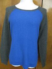 Ralph Lauren Women's Blue Gray Cashmere Sweater Size Medium NWT