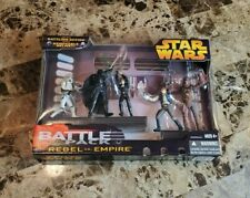 Rebel vs Empire 2006 Battle Pack Packs STAR WARS Revenge of the Sith MIB