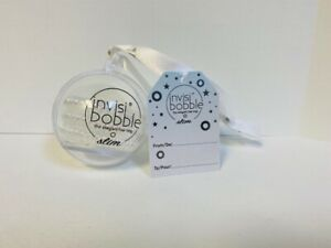 Invisibobble The Traceless Hair Ring - SLIM Bauble Clear 3 pk Tree Oranament