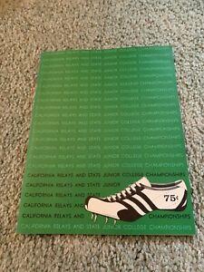 1964 California Relays State Junior College Track & Field Championship Program