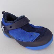 Crocs Clog Faux Fur Spring Enclosed Girls Kids Shoes Size C 9 CH190