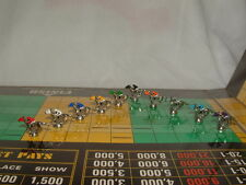 10 PIECE TOKEN FIGURE VINTAGE APBA AMERICAN SADDLE HORSE RACE GAME WITH BLINKERS