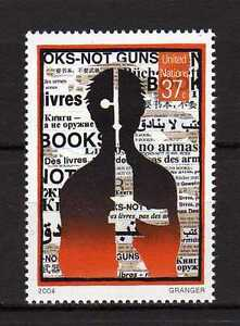 13356) One - Un US $2004 MNH New Book: No Guns