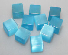 Glass Cube 6 - 6.9 mm Size Jewellery Making Craft Beads