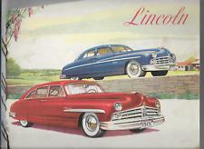 Lincoln 1949  brochure prospekt