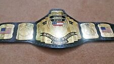 World Heavyweight Championship Belt / Real Leather / Adult Size