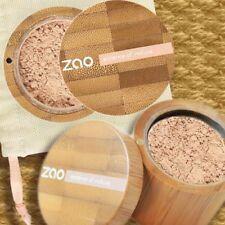 Zao Make-up 510 MINERAL SILK Make-up Puder Foundation + Finisher Naturkosmetik