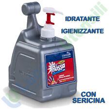 Gel Lavamani NETTUNO Idratante Sericina Crema Pasta ROSSA 3000ml Dispenser T-BOX