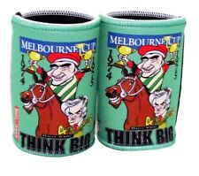 Melbourne Cup - Think Big Cartiture Stubby holders x 2