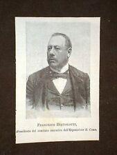 Francesco Bertolotti Como Esposizione Voltiana A.Volta