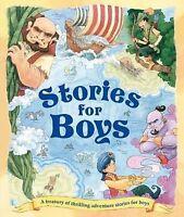 Stories For Boys (Treasuries), Igloo Books Ltd, Very Good Book
