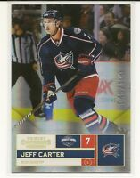 2011-12 Panini Contenders Gold #7 Jeff Carter Columbus Blue Jackets 045/100