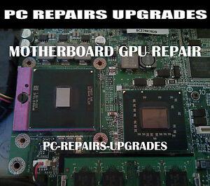 Dell INSPIRON 1525 1545 1720 1721 1750 Laptop GPU Motherboard Repair