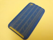 Blue Silicon Rubber Case Cover for iTouch 4G IF18