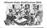 ORIGINAL Ultimate Mods Bible * Radio Modifications * DVDROM * PDF * KE3GK