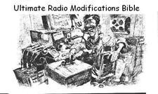ORIGINAL Ultimate Mods Bible * Radio Modifications * DVDROM * PDF * KE3GK