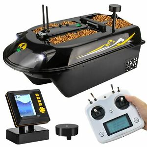 GPS RC Fishing Bait Boat 8kg Load With 600 M Remote Control Sea Fishing