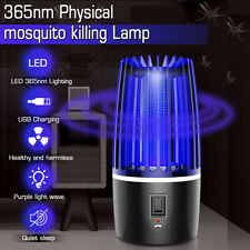 Rechargeable LED Mosquito Zapper Killer Fly Insect Bug Trap Lamp Light Bulb