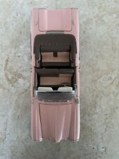 New ListingFranklin Mint 1958 Edsel Citation Convertible Pink 1:24 Model Diecast Car