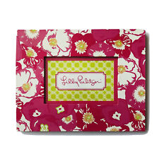Lily Pulitzer Floral Picture Frame 9.5x7.5in Pink Green Portrait or Landscape