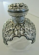 Large Silver Scent Bottle, William Comyns, London 1901